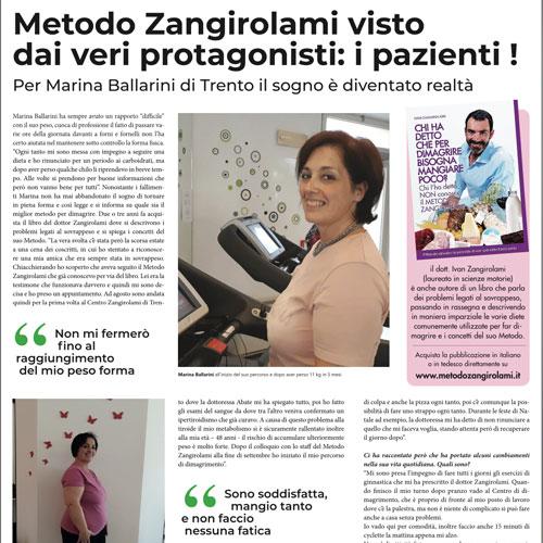 Metodo Zangirolami visto dai veri protagonisti: i pazienti
